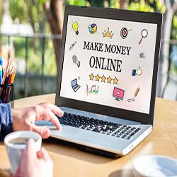 کسب درآمد از اینترنت با ۷ روش پولساز