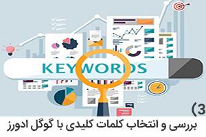 بررسی و انتخاب کلمات کلیدی با گوگل ادورز