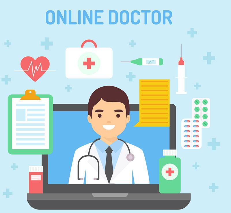 سیستم طراحی سایت پزشکی