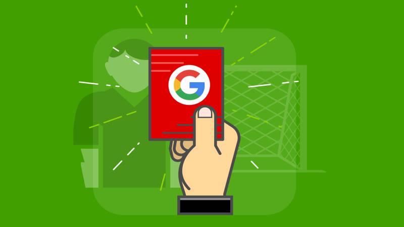 دلایل پنالتی گوگل